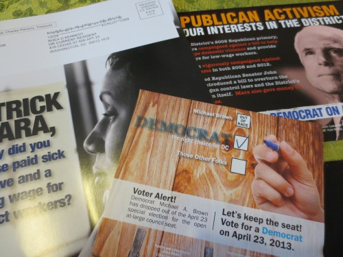 Election mailings