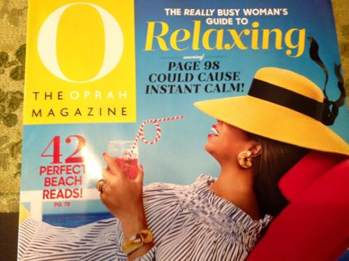 Oprah magazine July 2015