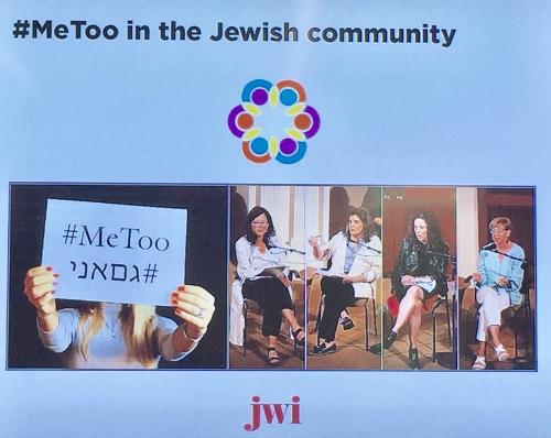 #Metoo in the Jewish community slide